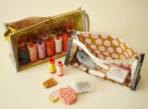 Boxy Clear Pouch Project Kit