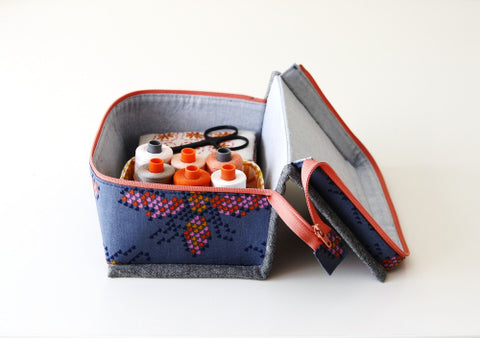 Just in Case Pouch by Aneela Hoey - Project Kit (Haberdashery and Pattern Only)