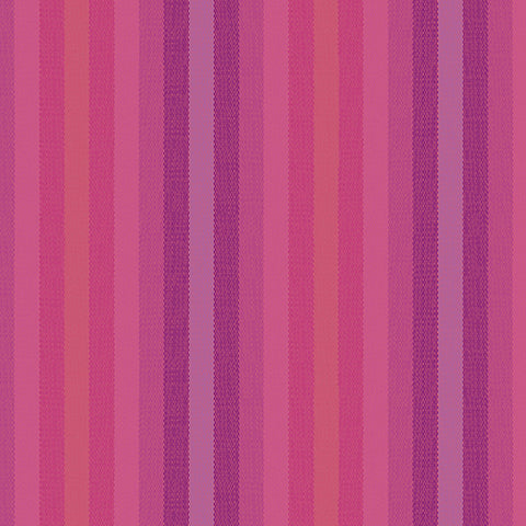 Kaleidoscope - Stripes and Plaids by Alison Glass  - Stripes Magenta