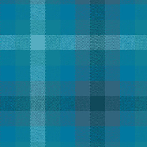 Kaleidoscope - Stripes and Plaids by Alison Glass  - Plaid Denim