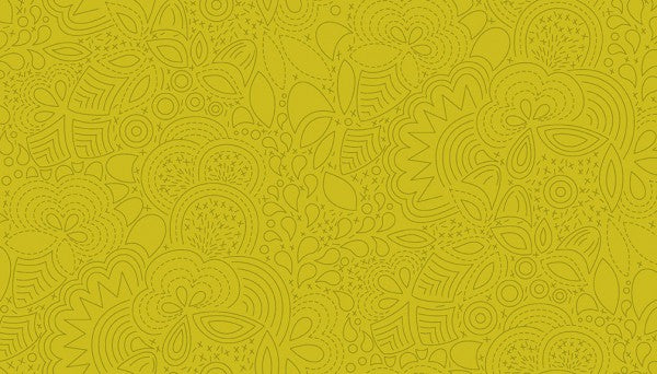 Alison Glass Sun Print 2020 - Stitched Chartreuse