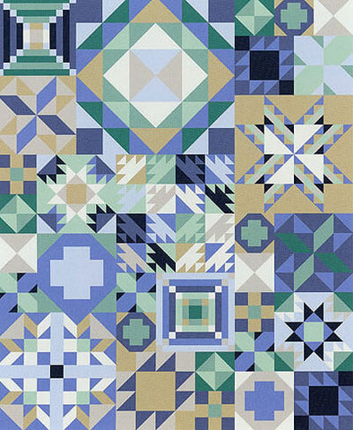 My Favourite Colour is Moda - Coastal Cool - 'Block of the Month' Quilt Club Registration
