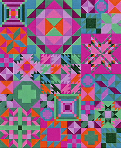 My Favourite Colour is Moda - Tropical Getaway - 'Block of the Month' Quilt Club Registration