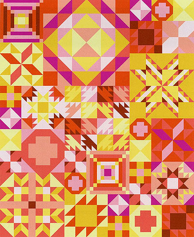 My Favourite Colour is Moda - Pink Lemonade - 'Block of the Month' Quilt Club Registration
