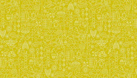 Alison Glass Sunprints 2019 - Collection Chartreuse