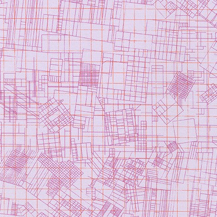 Collection CF by Carolyn Friedlander -  City Plan Orchid