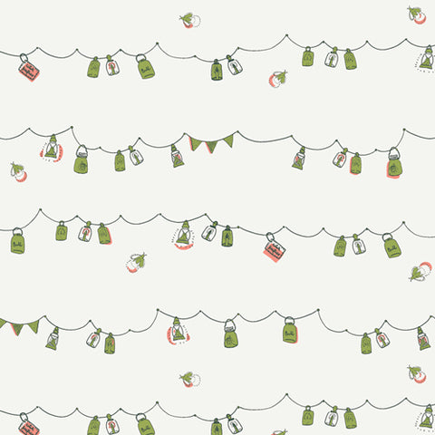Art Gallery Dew & Moss - Playful Mini Bunting