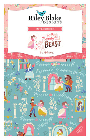 RESERVATION Jill Howarth Beauty and the Beast - FULL COLLECTION Fat Quarter Bundle (18 pieces)