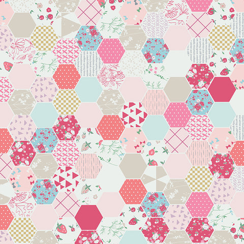 Minki Kim (Zeriano) Moments - Hexagons Pink