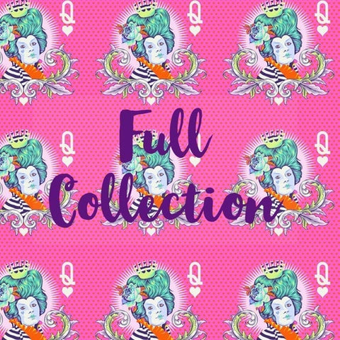 ** RESERVATION Curiouser & Curiouser by Tula Pink - Full Fat Quarter Bundle (25 pieces) **