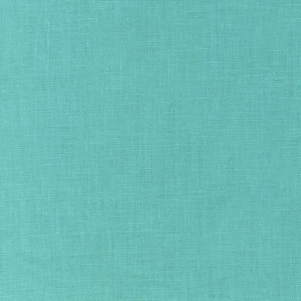 Robert Kaufman - Essex Linen - Medium Aqua
