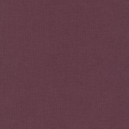 Robert Kaufman - Essex Linen - Plum