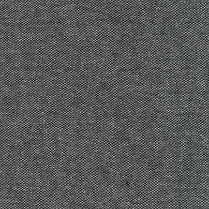 Robert Kaufman - Yarn Dyed Essex Linen - Charcoal