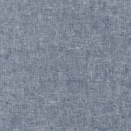 Robert Kaufman - Yarn Dyed Essex Linen - Indigo
