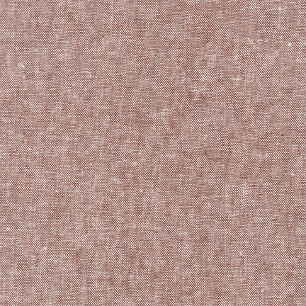Robert Kaufman - Yarn Dyed Essex Linen - Rust