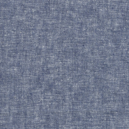 Robert Kaufman - Yarn Dyed Essex Linen - Denim