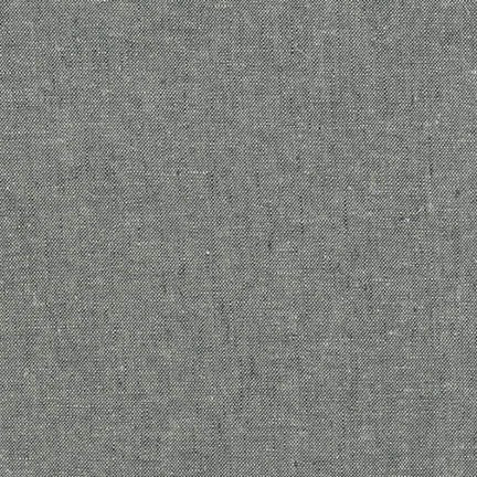 Robert Kaufman - Yarn Dyed Essex Linen - Graphite