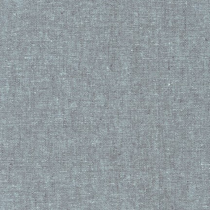 Robert Kaufman - Yarn Dyed Essex Linen - Shale