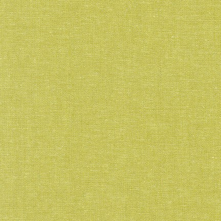 Robert Kaufman - Yarn Dyed Essex Linen - Pickle