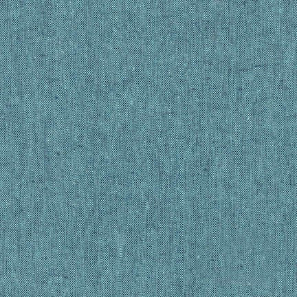 Robert Kaufman - Yarn Dyed Essex Linen - Malibu