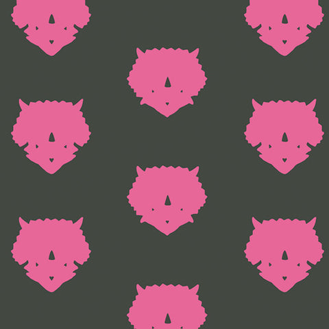 Esoterra - Art Gallery Fabric - Triceratops Pink