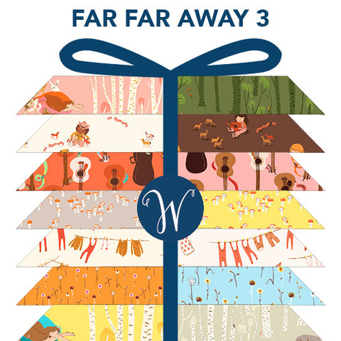 ** RESERVATION ** Heather Ross - Far Far Away III - Fat Quarter Bundle (23 pieces)