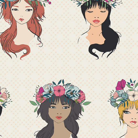 Flower Child - Sisterhood - Art Gallery