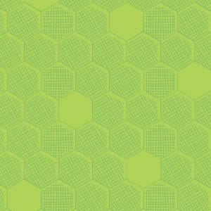 Dashwood Studio - Great British Quilter Back to Basics - Honeycomb Chartreuse
