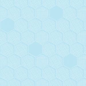 Dashwood Studio - Great British Quilter Back to Basics - Honeycomb Powderblue