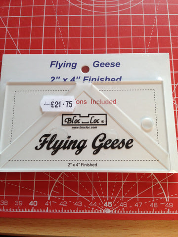 Bloc-Loc Flying Geese Ruler - 2 x 4inch