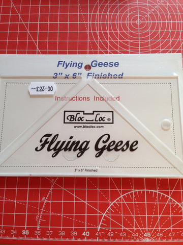Bloc-Loc Flying Geese Ruler - 3 x 6inch