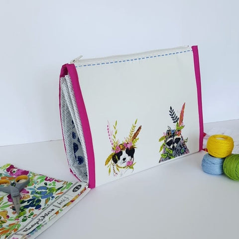 Booklet Pouch by Aneela Hoey - Project Kit