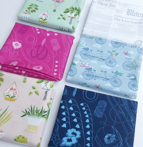 Michael Miller - Flower Shop - Fat Quarter Bundle