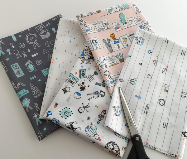 Figo Fabrics - Book Club - 5 FQ Bundle