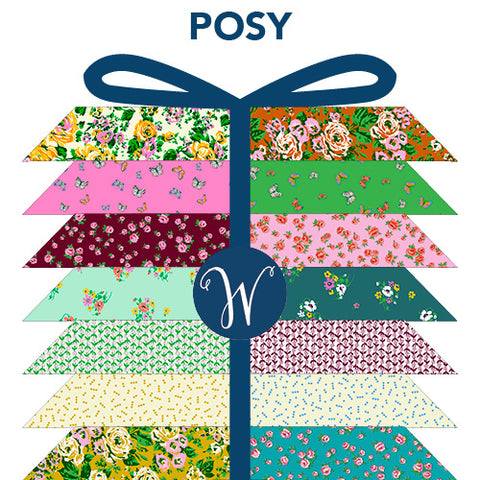 **RESERVATION** Posy from Annabel Wrigley - 19 piece Fat Quarter Bundle - NEW