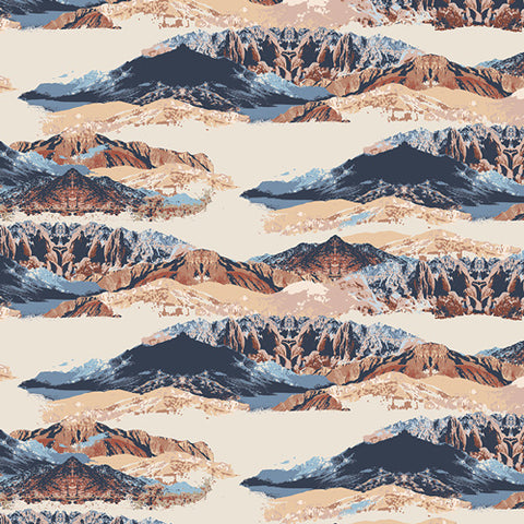 Arizona After - Art Gallery Fabric - Mountain Mirror RAYON