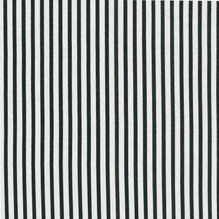 Sevenberry Stripes - Black on White