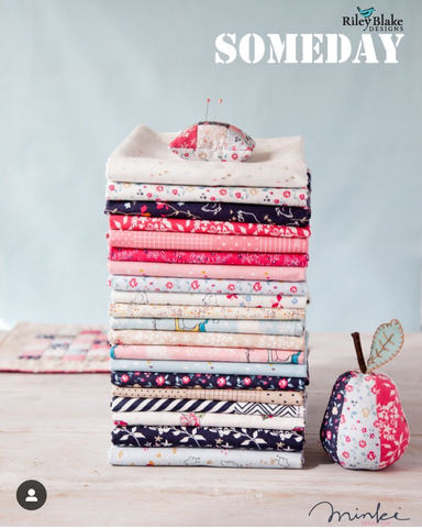 Minki Kim (Zeriano) Someday - FULL COLLECTION Fat Quarter Bundle