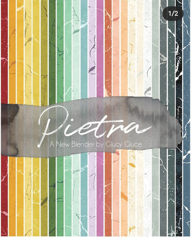 **RESERVATION** Pietra by Giucy Giuce - 24 piece Fat Quarter Bundle - NEW
