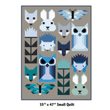 Elizabeth Hartman - Fancy Forest Quilt Pattern