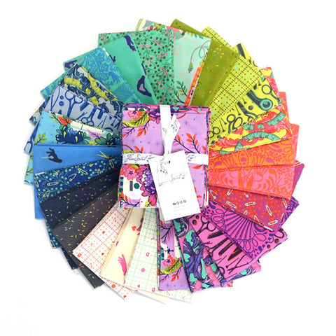 RESERVATION Homemade by Tula Pink - Full Fat Quarter Bundle (25 pieces)