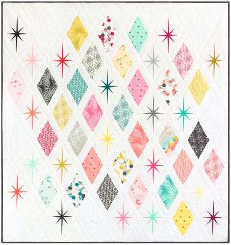 Atomic Starburst by Violet Craft - Quilt Kit