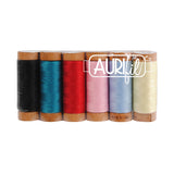 Meadow Storm 80wt Thread by Victoria Findlay Wolfe - Aurifil Thread Set