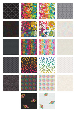 **RESERVATION** Art Theory by Alison Glass  - 20 piece Fat Quarter Bundle PLUS 1 ART THEORY CIRCLE in Light & Dark - NEW