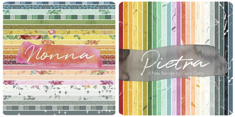 **RESERVATION SPECIAL** Pietra and Nonna by Giucy Giuce - 24 and 28 piece Fat Quarter Bundles - NEW