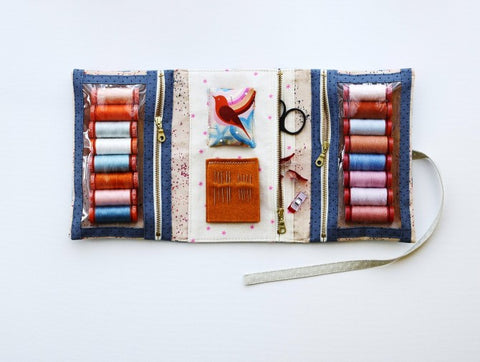Make and Go Pouch by Aneela Hoey - Paper Pattern