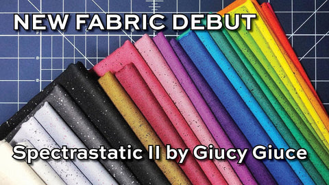 NEW! Spectrastatic II by Giucy Giuce - Fat Quarter Bundle of 20 fabrics