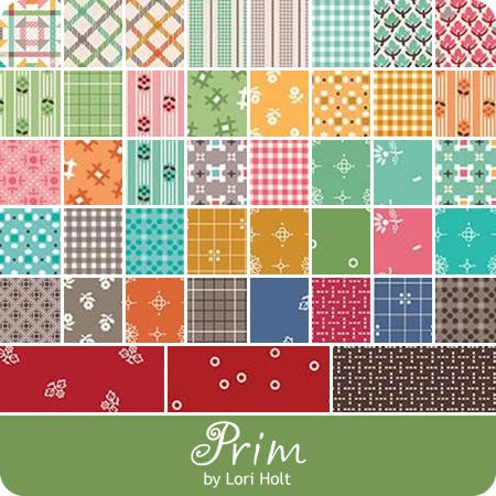 RESERVATION Lori Holt Prim Fat Quarter Bundle plus Prim Sewalong Sew Simple Shapes