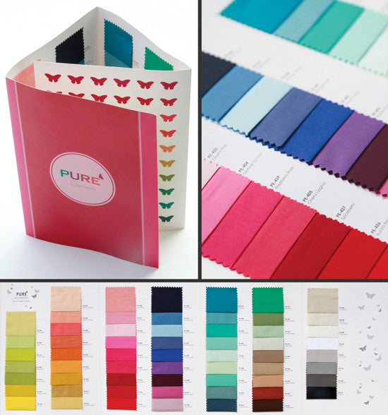 Art Gallery Fabric - Pure Elements - Colourcard