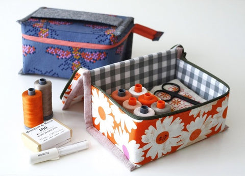Just in Case Pouch by Aneela Hoey - Paper Pattern